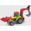 Трактор-экскаватор с погрузчиком (серия Roadmax) 20105