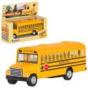 Школьный автобус KINSFUN KS 5107 W инерц., SCHOOL BUS 5'', кор.