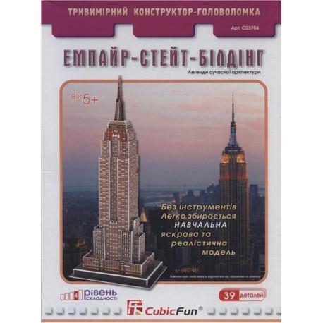 Трехмерная головоломка-конструктор Эмпайр-Стейт-Билдинг C03704