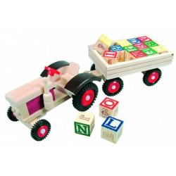 Трактор с алфавитом (англ.) 82077