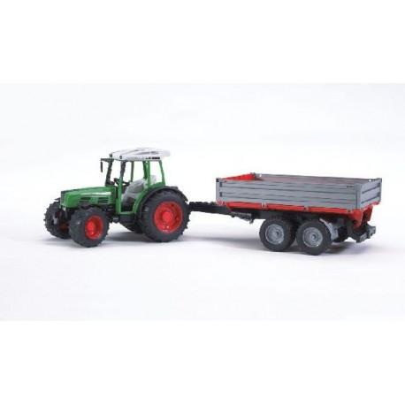 Трактор Fendit 209 S с прицепом, М1:16 (02104)