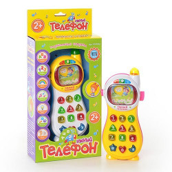 Телефон JT 0101RU Умный телефон, 7 функций, бат., кор., 29 см