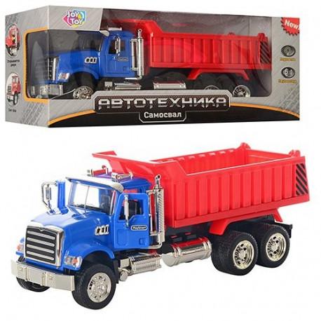 Стройтехника JT 9463 C грузовик, муз., свет., кор., 29 см уценка